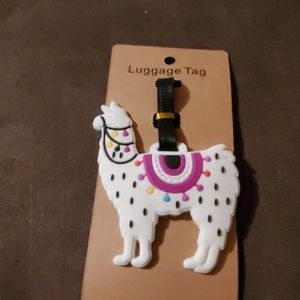 Lama luggage tag